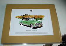 Desoto Sportsman Mounted colour USA car Print