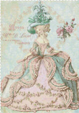 Marie Antoinette at Paris Opera DIGITAL Counted Cross-Stitch Pattern Needlepoint