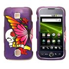 Purple Best Hard Snap on Case Cover For Huawei Ascend M860