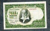 BILLETE 1000  PESETAS 1951  SOROLLA   SERIE A5034275  EBC APRESTO NUEVO