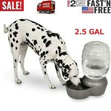 Pet Water Fountain For Cat Dog Automatic Waterer Dish Bowl Feeder Dispenser