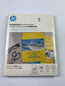 HP Enhanced Business Paper 40lb 8.5 x 11 White 150/Pack Q6611A
