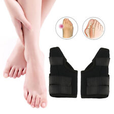 Pair of Big Toe Bunion Splint Straightener Corrector Hallux Valgus Relief Pain