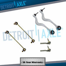 New 6pc Complete Front Lower Forward Control Arm Outer Tie Rod Sway Bar End Link