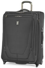 """Travelpro Luggage Crew 11 26"""" Expandable Rollaboard Upright Suitcase - Black"""