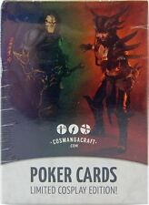 Poker cards: cosplay Edition-inglés naipes (54 cartas)