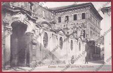 CREMONA CREMA 62 Cartolina viaggiata 1909