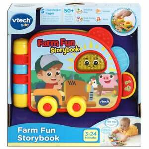 vTech Baby Farm Fun Storybook with Sound and Music