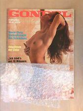 RARE REVUE EROTIQUE VINTAGE EN ALLEMAND / GONDEL / AOUT 1976 / TRES BON ETAT