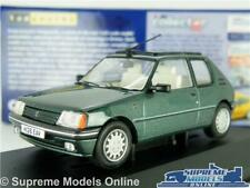 PEUGEOT 205 ROLAND GARROS MODEL CAR GREEN 1:43 SCALE VANGUARDS VA12704 K8