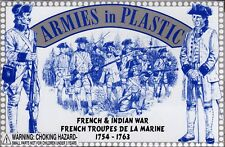 Armies in Plastic French/Indian War French Troupes de la Marine 1/32 Scale 54mm