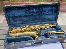 1935 Conn 10M Transitional Tenor Saxophone - RARE SURVIVOR Ready for a new home!