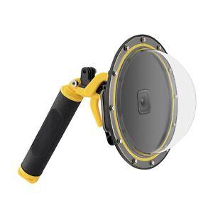 TELESIN Dome Port Underwater Diving Camera Lens Cover Passt für Gopro Hero 9/10