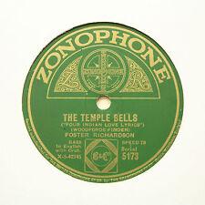 "FOSTER RICHARDSON ""Kashmiri Song / The Temple Bells"" ZONOPHONE 5173 [78 RPM]"