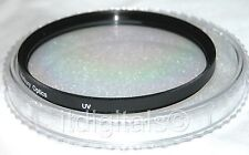 52mm UV Coated Glass Safety Protector Lens Filter 52 mm