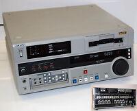 SONY DSR-1800AP PROFI  DIGITAL VIDEOCASSETTE RECORDER DVCAM MASTER SERIE #I180