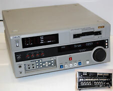 Sony dsr-1800ap Pro Digital Video Cassette Recorder DVCAM Master Series #i180