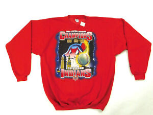 Cleveland Indians Mens L 1997 Central Division Champions JCPenny Deadstock NOS