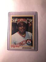 1978 Topps Joe Morgan Cincinnati Reds #300 Baseball Card