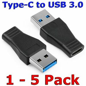 USB C 3.1 Type C Female to USB 3.0 Type A Male Port Converter Adapter Connector