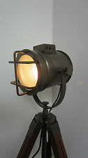 Stile industriale Vintage Movie Spot Light Lampada da pavimento treppiede