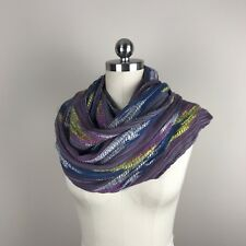 Urban Outfitters Staring At Stars Rainbow Infinity Scarf Boho Cotton Blend 1 Sz