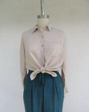 Chadwick's American Vintage Linen Shirt Beige Oversized Net A Porter