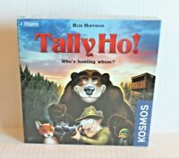 KOSMOS Tally Ho! Board Game Hunting Theme for 2 Players Ages 8+ NEW