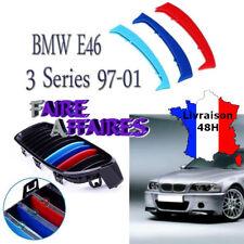 3 Clip bandes Grille Calandre BMW M Motorsport Performance E46 P1 318D 320D 330D