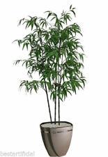 Fiori e piante finte albero verde per la decorazione della casa