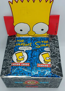 1993 SKYBOX/BONGO * THE SIMPSONS SERIES 1 * 36 PACK BOX * RARE * READ DESC *