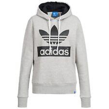 Adidas Sweatshirt Damen Kapuzenpullover Hoodie originals Trefoil Hoody - NEU