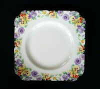 Beautiful Royal Doulton Art Deco Wild Pansy Sweets Plate