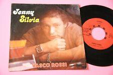 """VASCO ROSSI 7""""  JENNY SILVIA ORIGINALE 1977 PRIMO DISCO DI VASCO !!!"""