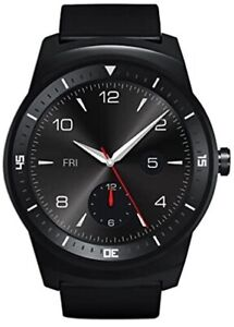 lG G Watch R 46mm Stainless Steel Case Black Classic Leather Buckle LG-W110 part