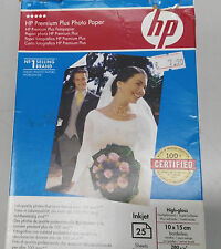 HP Q8028A Premium Plus Photo carta lucida 10x15  25 fogli 280 GR