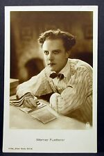Werner Fuetterer - Actor Movie Photo - Film Autogramm-Karte AK (Lot-Z-726)