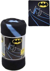 DC Comics Licensed Batman Silhoutte Classic Dark Knight Fleece Throw Blanket