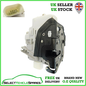NEW AUDI A4 B8 / A5 8T DRIVERS SIDE FRONT DOOR LOCK ACTUATOR 2008-2009 (9-PIN)