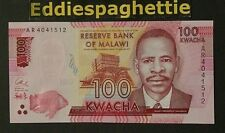 MALAWI 100 KWACHA 1-1-2014 UNC P-65