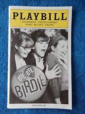 Bye Bye Birdie - Henry Miller's Theatre Playbill w/Ticket - September 11th, 2009
