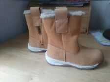Toddler Timberland  Faux Fur Boots size 7