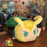 Marvel The Avengers Loki Cosplay Plush Doll Stuffed Toy Soft Pillow Cushion 44cm