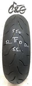 Bridgestone Battlax   Bt016r   190/50zr17 73w     Part Worn Motorcycle Tyre 554