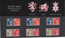 GB 1990 THREE  REGIONALS DEFINITIVE MACHIN 17p - 37p PACK No. 23 MINT STAMP SET