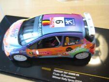 Peugeot 207 S2000 #9 Winner Rally Ypres 2008 Loix/Buysmans IXO 1:43