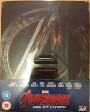 The Avengers Age of Ultron 3D Blu-ray Marvel  UK Steelbook - Disney - New