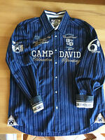 Camp David -  premium Hemd - langarm - XXL