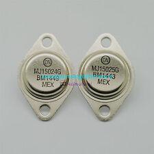 1pair MJ15024G MJ15025G 100% Genuine NEW ON tansistors TO-3,2pcs