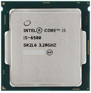 Intel Core i5-6500 6th Generation Processor Quad Core CPU SR2L6 3.20Gz 6MB Cache